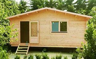 Case mobili preingressi roulotte casette in legno for Casa mobile in legno
