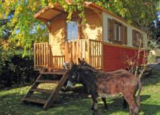 Carrozzone in legno carrozzone gitano casa mobile in legno for Casette in legno abitabili arredate